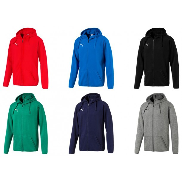 Puma Liga Casuals Hoody Jacket | WoMa Teamsport
