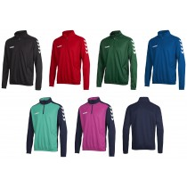 Gesamtbild Hummel 1/2 Zip Sweat Core